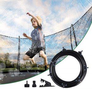 Trampoline Sprinkler for Kids 49 Ft