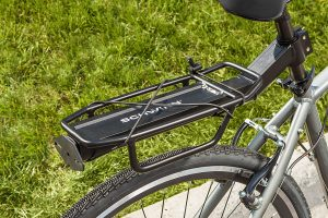 rear bike rack basket