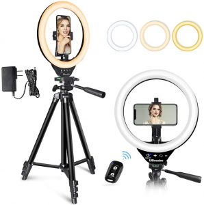 10 inches LED ring light by Ubeesize