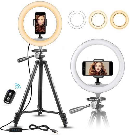 10 inches ring light by Ubeesize