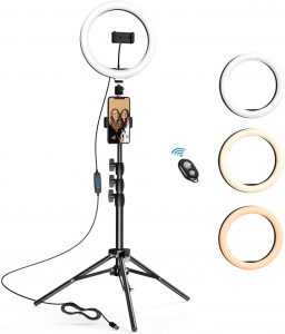 2 inches selfie ring light by LETSCOM