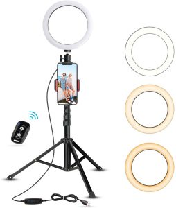 8 inches selfie ring light by UBeesize