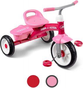 Best Design: Radio Flyer Pink Rider Trike