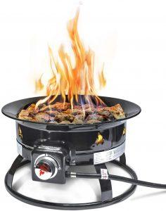 single burner propane camp stove