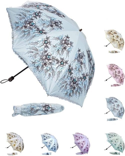 Compact parasol umbrella UV protection by JJACK's