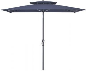 rectangular garden umbrella