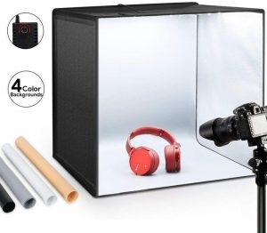 photography light box for electronic gadgets
