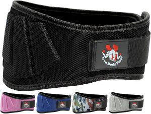 Iron Body Team Weight Lifting Belts for Men and Women 6 Inch Weight Lifting Core