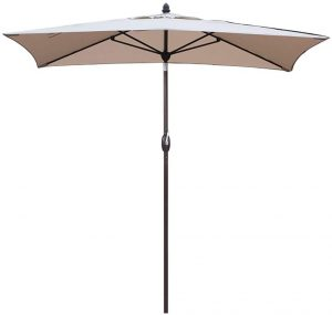 extra large rectangular patio umbrella