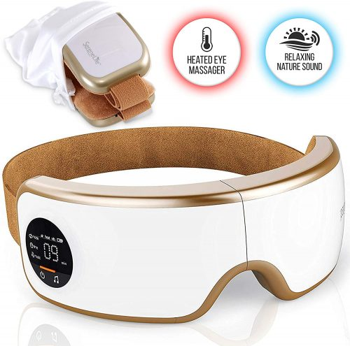 Stress therapy electric eye massaging device by SereneLife