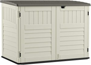 lifetime vertical storage shed