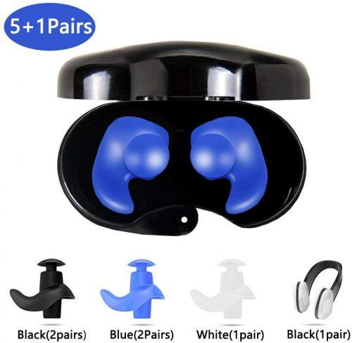 Swimming waterproof earplugs by Conful