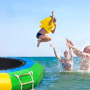 Water Splash Padded Swim Platform for Water Sports Outdoor