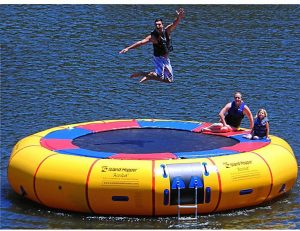 inflatable water trampoline floats