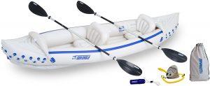 intex explorer k2 2 person inflatable kayak