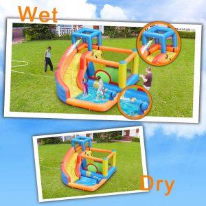 kid inflatable water slide