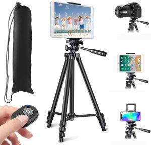 """53"""" Tripod for iPhone Camera Tablet"""