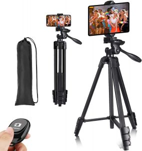 2021 New Lightweight Compact Tripod for iPad, Phone and Tablet