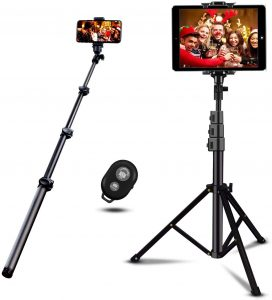 Remote Shooting tripod for iPad, Tablet and smartphone