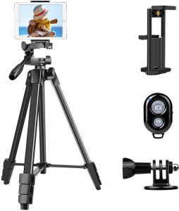 2 in 1 Clip Tripod for Smartphone and iPad