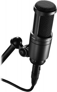 Cardioid Condenser Studio XLR Microphone for streaming