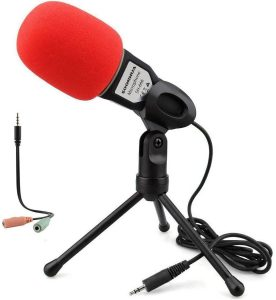 Condenser microphone for ASMR