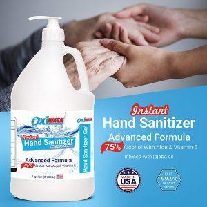 75% Alcohol Fragrance Free Hand Sanitizing Gell
