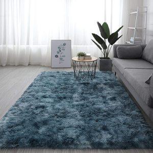 soft furry shag carpet