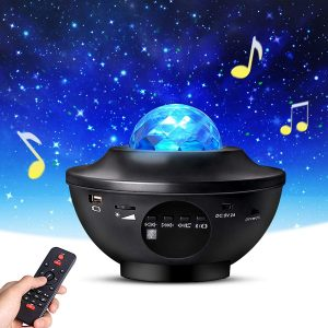 Eicaus 3 in 1 LED Night Light Star Projector