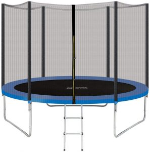AMGYM Trampoline Safety Enclosure Net Combo Bounce Jump for Kids