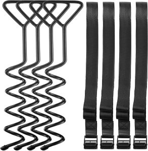 Corkscrew Shape Steel Stake High Wind Anchor Kit for Trampolines