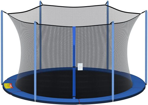 Breathable and Weather-Resistant Enclosure for Trampoline