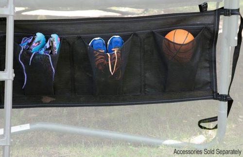 Shoes bag for trampoline