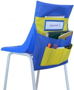 Blue Seat Sack Storage for Chair