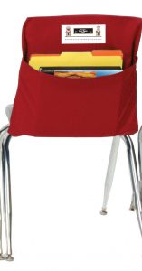 15-Inch Red Seat Sack