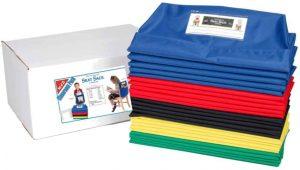 Multi-color seat sacks