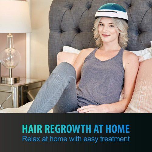Restore Hair Loss with FDA Cleared Medical Grade Laser Helmet